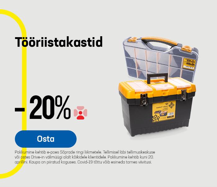 Tööriistakastid -20%