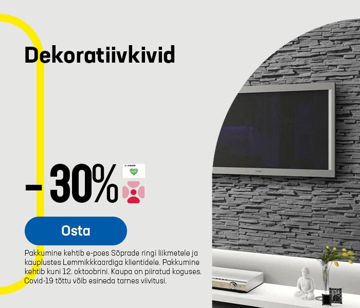 Dekoratiivkivid -30%