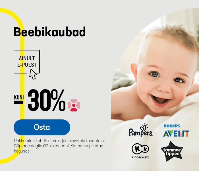 Beebikaubad kuni -30%