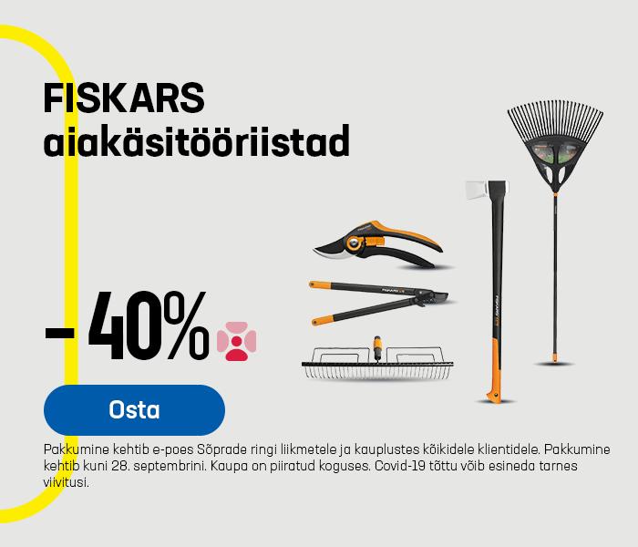 FISKARS aiakäsitööriistad -40%