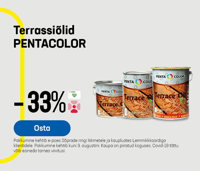 Terrassiõlid PENTACOLOR -33%
