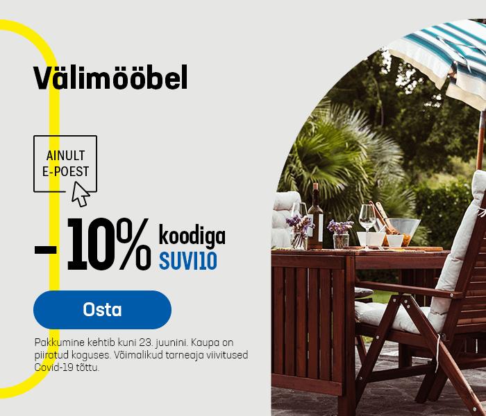 Välimööbel -10% koodiga SUVI10