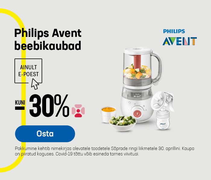 Philips Avent beebikaubad kuni -30%