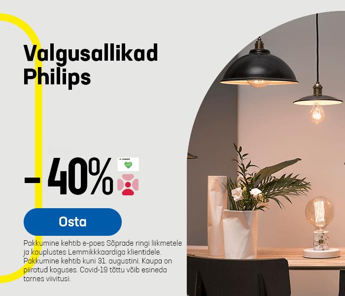 Valgusallikad Philips -40%