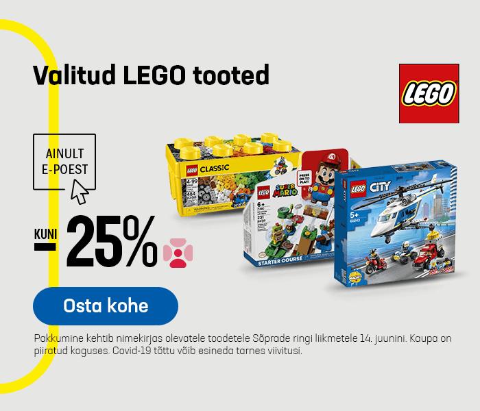 Valitud Lego tooted kuni -25%
