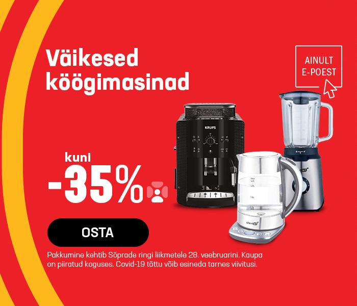 Väikesed köögimasinad kuni -35%