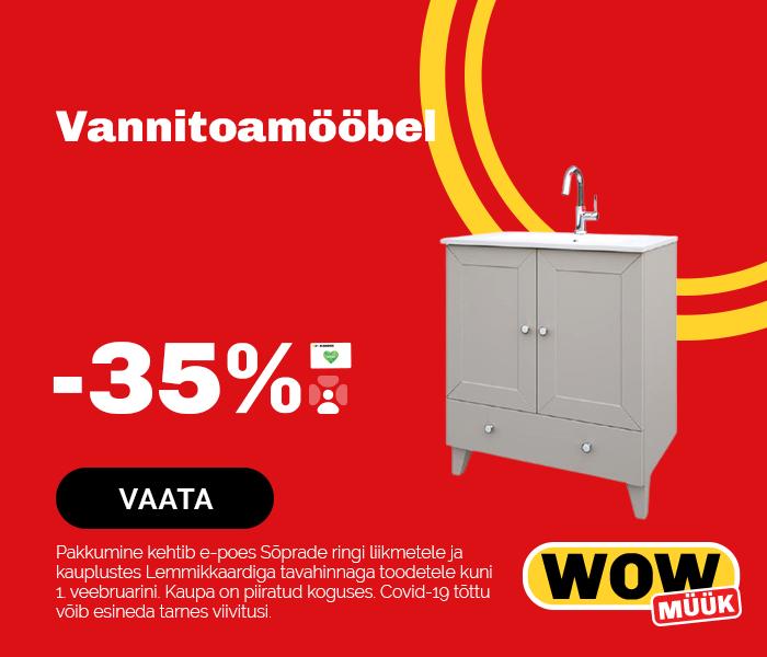Vannitoamööbel -35%