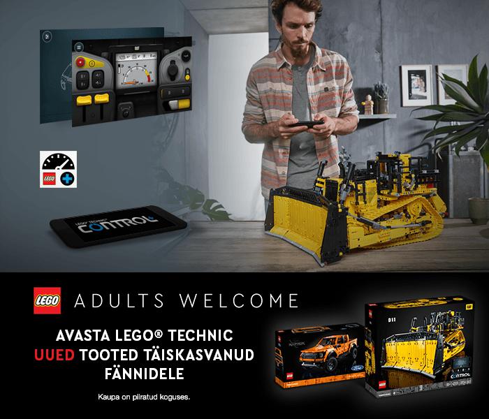 LEGO ADULTS WELCOME AVASTA LEGO® TECHNIC UUED TOOTED TÄISKASVANUD FÄNNIDELE