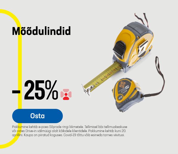 Mõõdulindid -25%