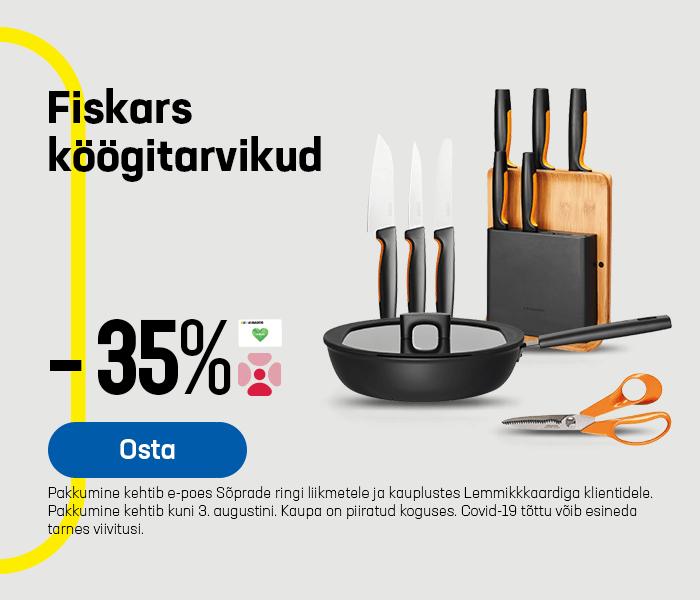 Fiskars köögitarvikud -35%