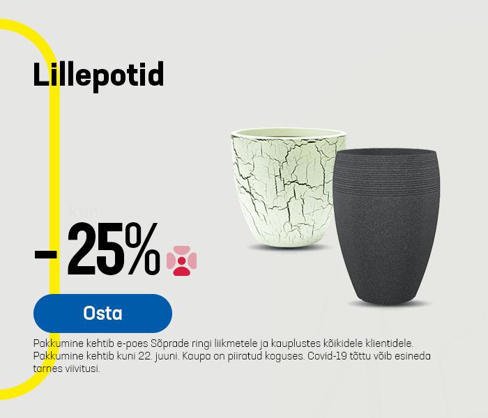 Lillepotid -25%