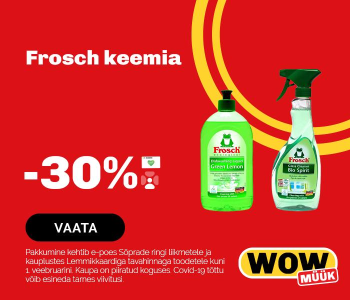 Frosch keemia -30%