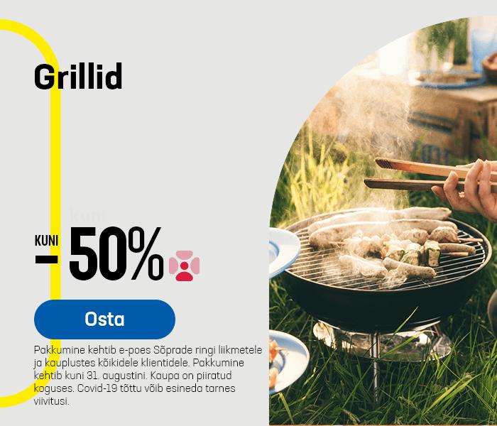 Grillid kuni -50%