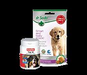 Papildbarība un vitamīni suņiem