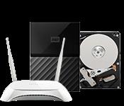 Datora komponentes, tīkla produkti