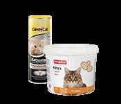 Papildbarība un vitamīni kaķiem