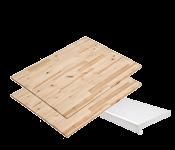 Celtniecības plātnes, palodzes, galda virsmas