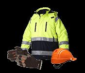 Darba apģērbs un darba drošības preces