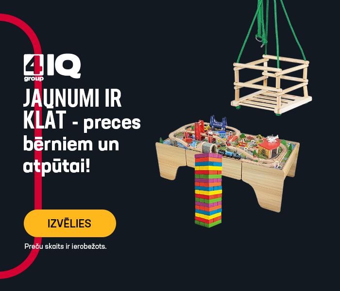 4IQ jaunumi ir klāt - preces bērniem un atpūtai!