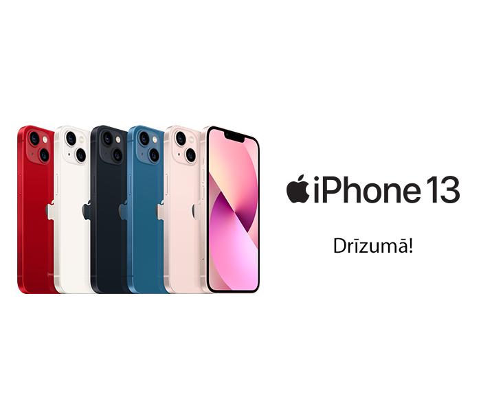 iPhone 13 - drīzumā!