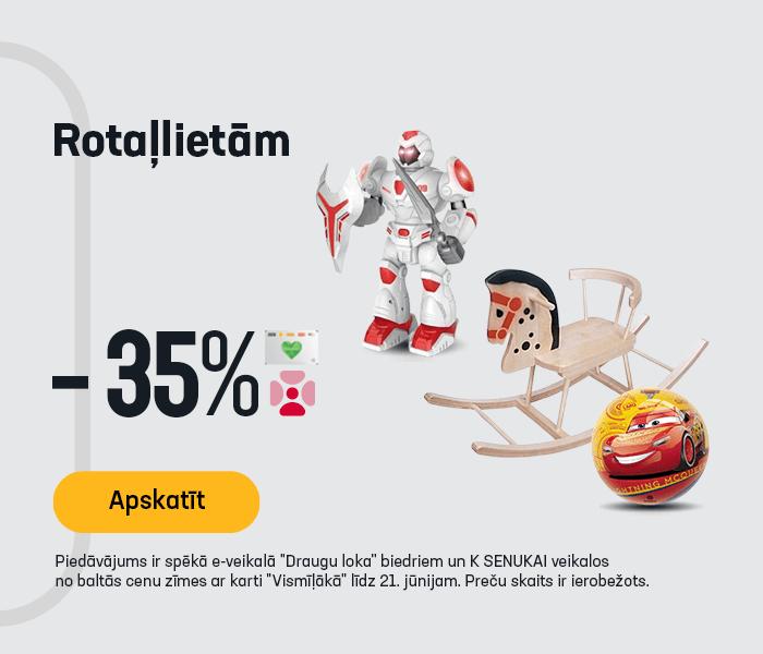 Rotaļlietām -35%