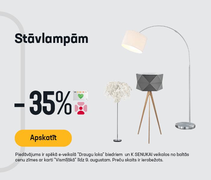 Stāvlampām -35%