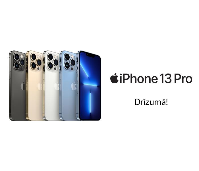 iPhone 13 Pro - drīzumā!