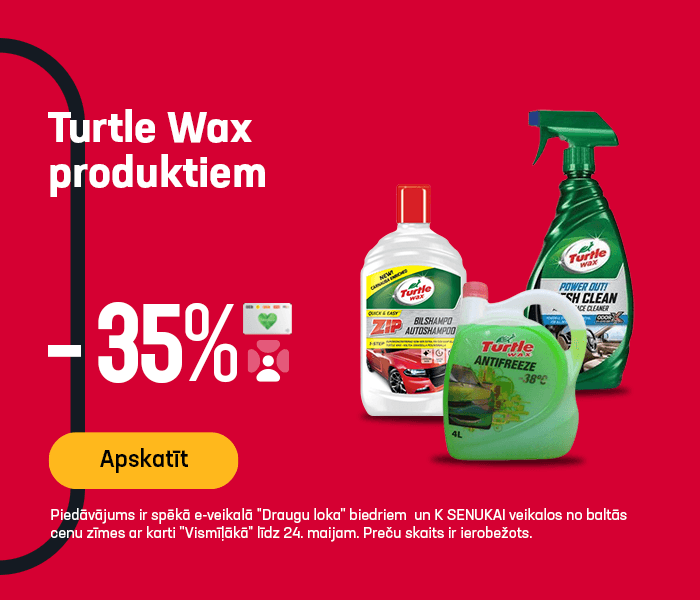 Turtle Wax produktiem -35%