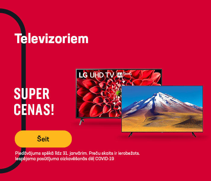 Zemas cenas televizoriem