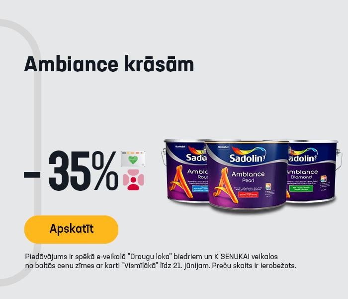 Ambiance krāsām -35%