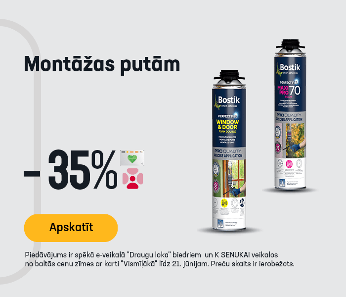 Montāžas putām -35%
