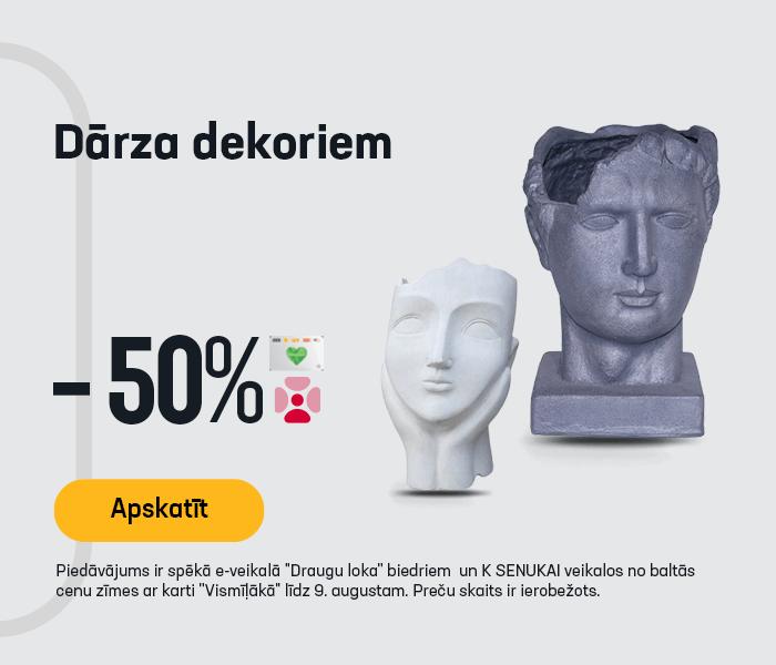 Dārza dekoriem -50%