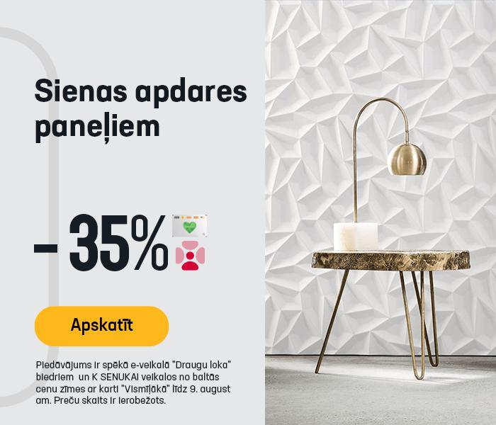 Sienas apdares paneļiem -35%