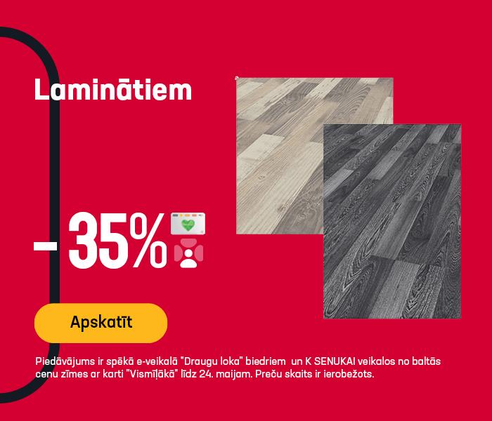 Laminātiem -35%