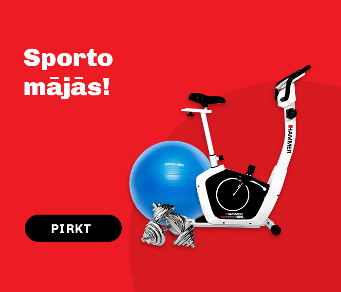 Sporto mājās!