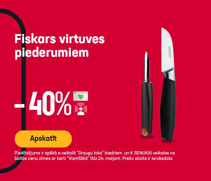 Fiskars virtuves piederumiem -40%