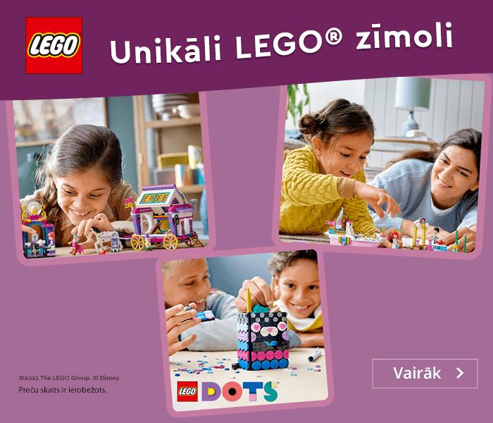 Unikāli LEGO® zīmoli