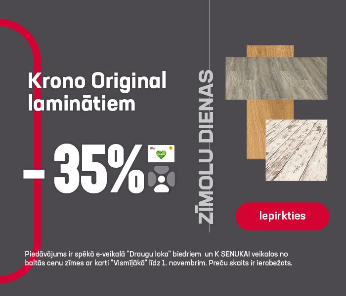 Krono Original laminātiem -35%
