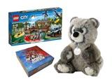 LEGO, lėlės, žaislai ir stalo žaidimai