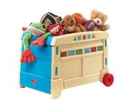 Dėžės ir maišai žaislams
