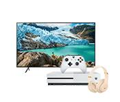 TV, audio, video, žaidimų kompiuteriai