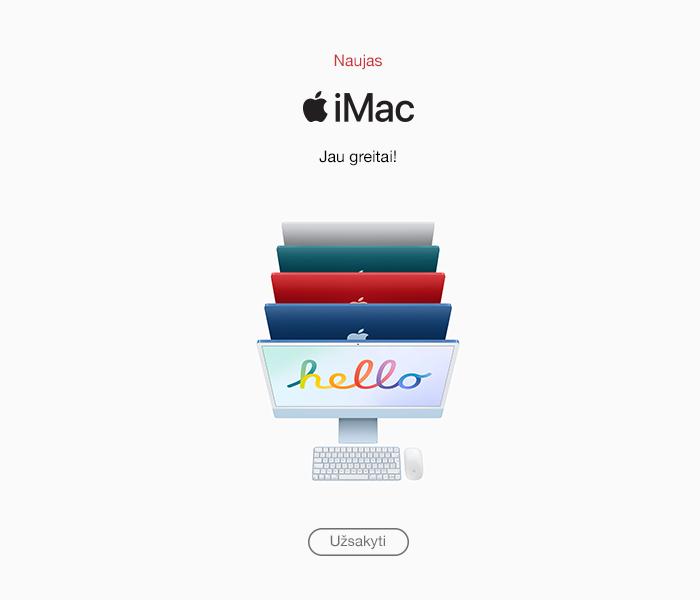 Naujas iMac