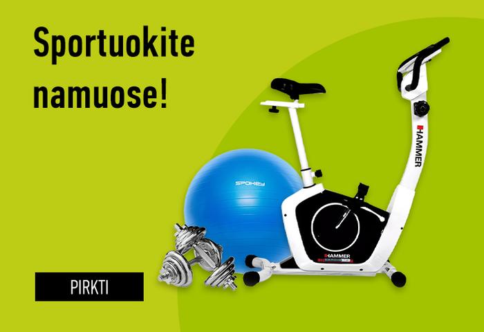 Sportuokite namuose!