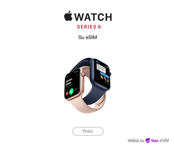 Apple Watch series 6 su eSIM