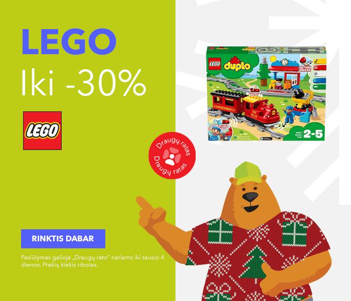 Iki -30% LEGO