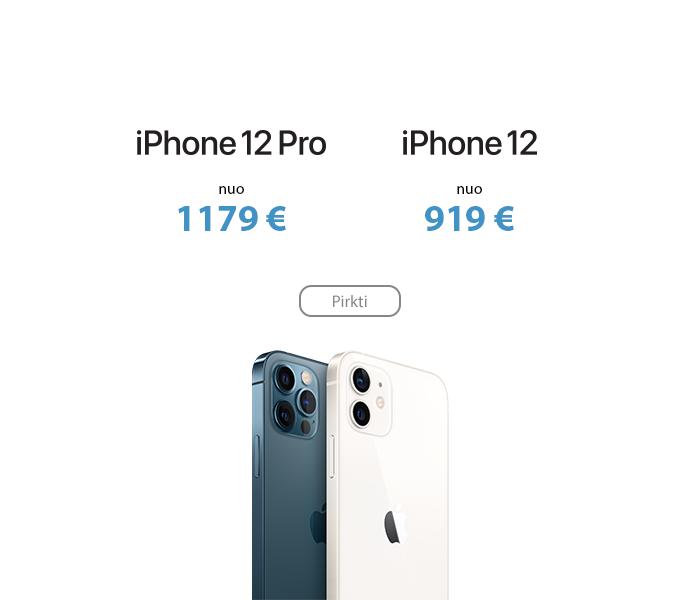 Apple iPhone 12 ir iPhone 12 Pro