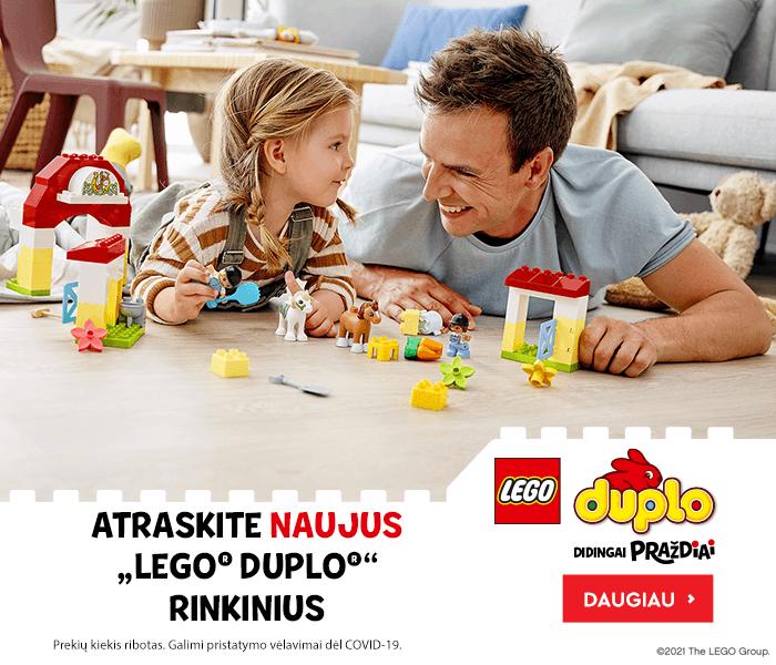 ATRASKITE NAUJUS ,,LEGO DUPLO'' RINKINIUS