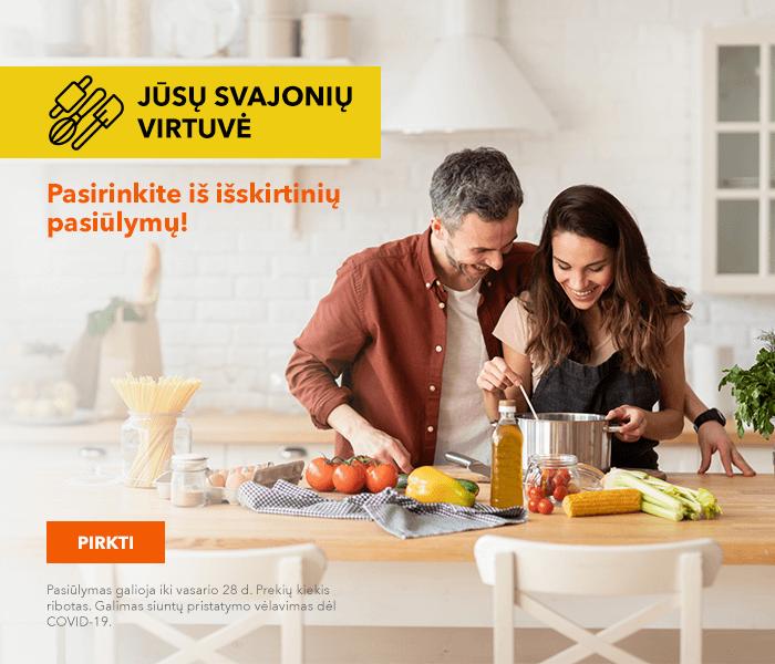 Jūsų svajonių virtuvė Pasirinkite iš išskirtinių pasiūlymų!
