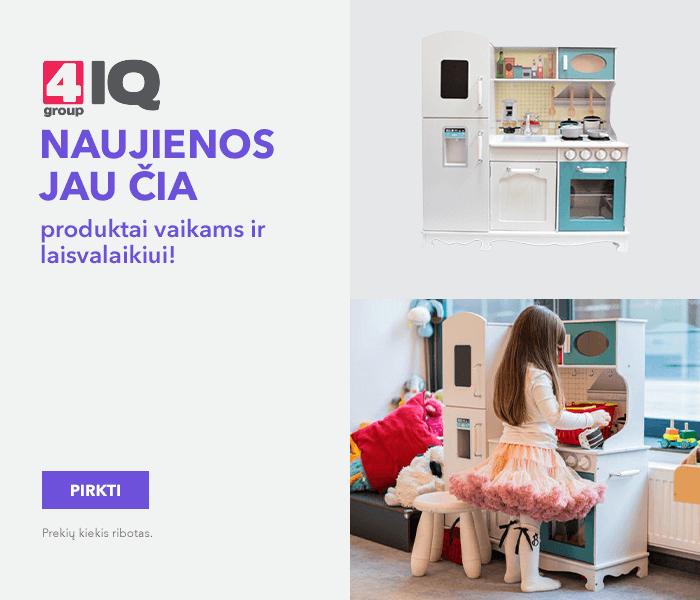 4IQ naujienos jau čia - produktai vaikams ir laisvalaikiui!