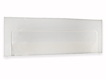 Vonios sienelė Kyma, 170x50 cm, balta